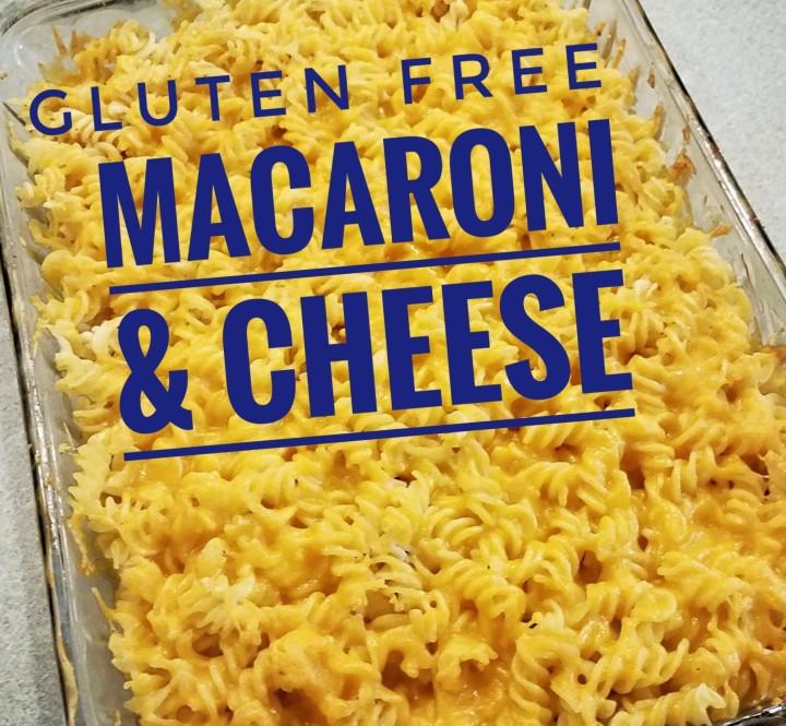 Gluten Free Mac &Cheese