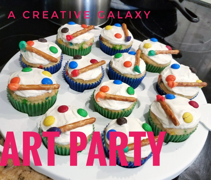A Creative Galaxy ART PARTY!