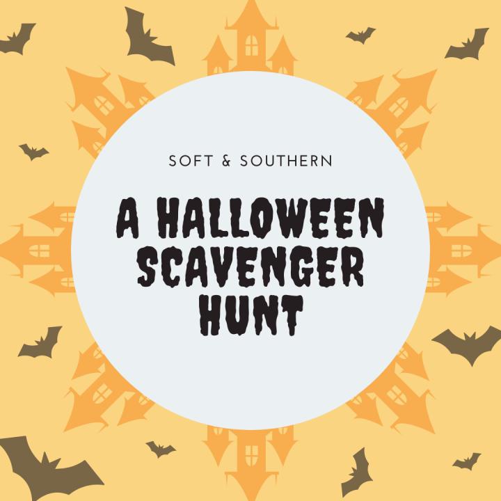 A Halloween ScavengerHunt!